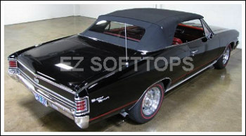 1966 Thru 1967 Chevrolet Chevelle/Malibu Convertible Top With A