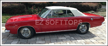 1967 Thru 1969 Plymouth Barracuda Convertible Top With A