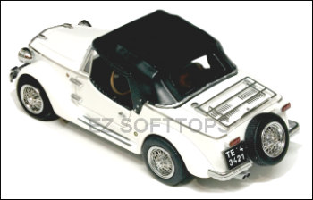 1968 Thru 1975 Fiat Siata Convertible Top With A Plastic Window