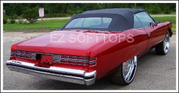 NEW IN BOX 1971 1972  1973 Chevrolet Impala Convertible Top w Plastic Window